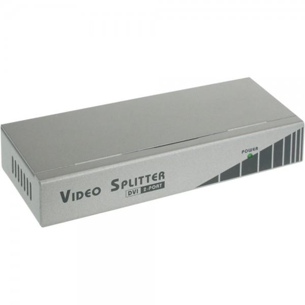 InLine® DVI Monitor-Verteiler, 2-fach, 165Mhz