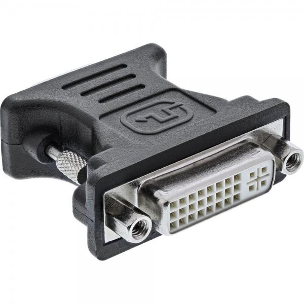 InLine® DVI-A Adapter, Analog 24+5 Buchse auf 15pol HD Stecker (VGA)