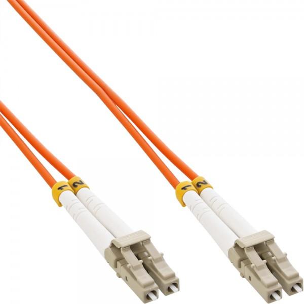 InLine® LWL Duplex Kabel, LC/LC, 62,5/125µm, OM1, 5m