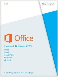 Microsoft: Office 2013 Home and Business, ESD (deutsch) (PC) (AAA-02652)