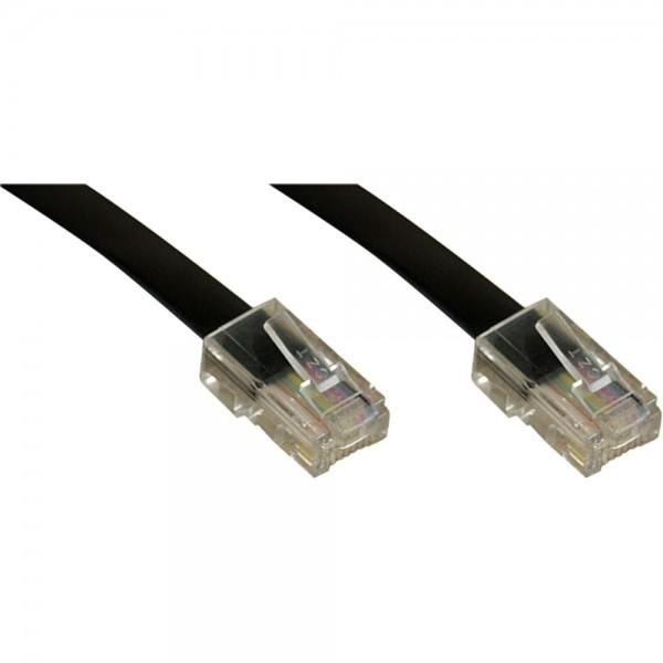 InLine® ISDN Anschlußkabel, RJ45 Stecker / Stecker (8P4C), 5m