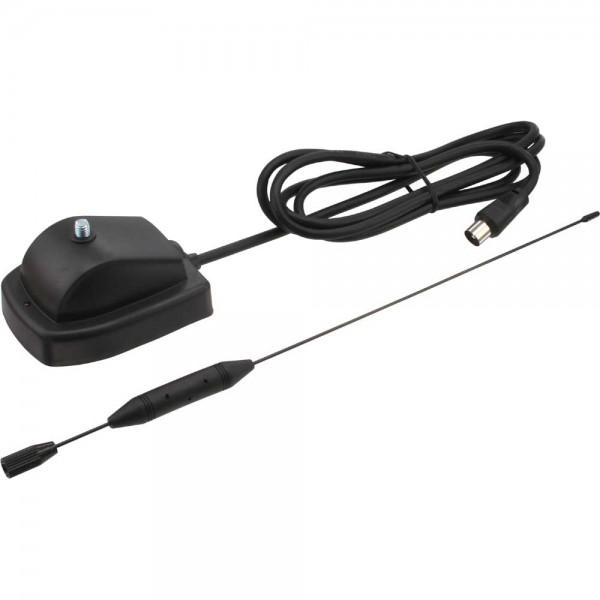 InLine® DVB-T Zimmer Stab Antenne mit Verstärker