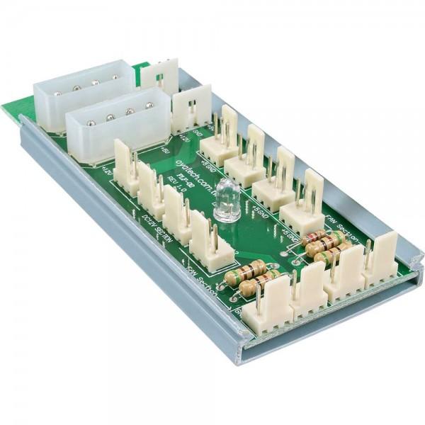 InLine® Multi Port Panel, für 12 Lüfter