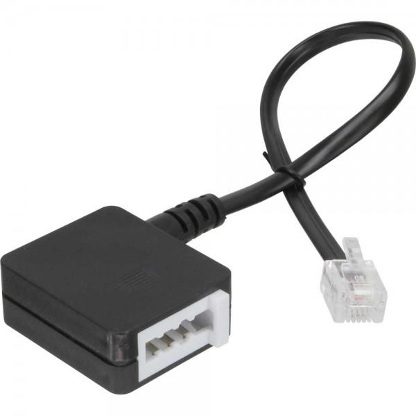 InLine® TAE Adapterkabel, RJ11 Stecker auf TAE-N Buchse