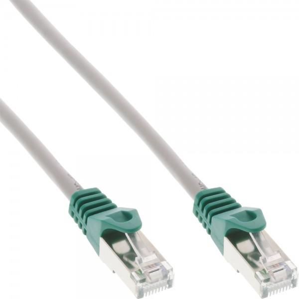 InLine® Crossover Patchkabel, F/UTP, Cat.5e, grau, 1m