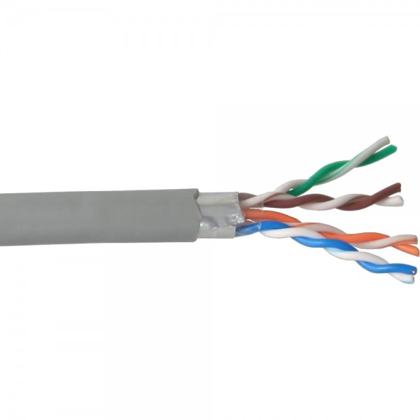 InLine® Verlegekabel, F/UTP, Cat.5e, AWG24 CCA, PVC, 100m