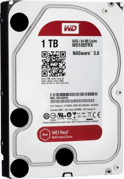 HDD WD Red WD10EFRX 1TB/8,9/600 Sata III 64MB