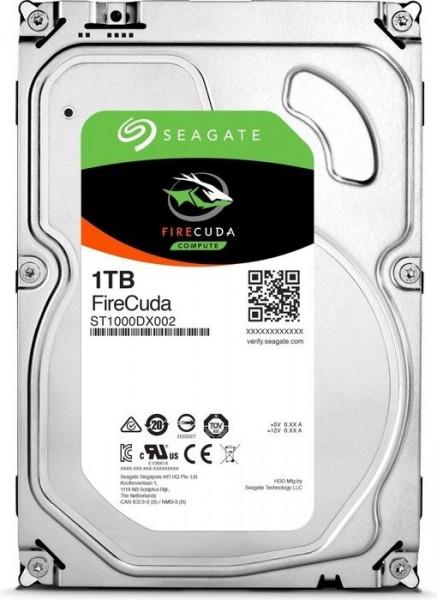 HDD Seagate FireCuda SSHD ST1000DX002 1TB Sata III 64MB + 8GB Flash (D)