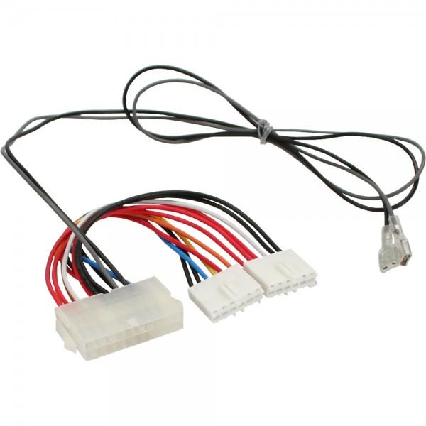 InLine® Stromadapter intern, 20pol ATX-NT zu P8/P9 AT-Mainboard + Schalter, 0,2/0,8m
