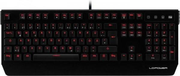 LC-Power LC-KEY-MECH-1, MX-Red, USB, DE (LC-KEY-MECH-1)