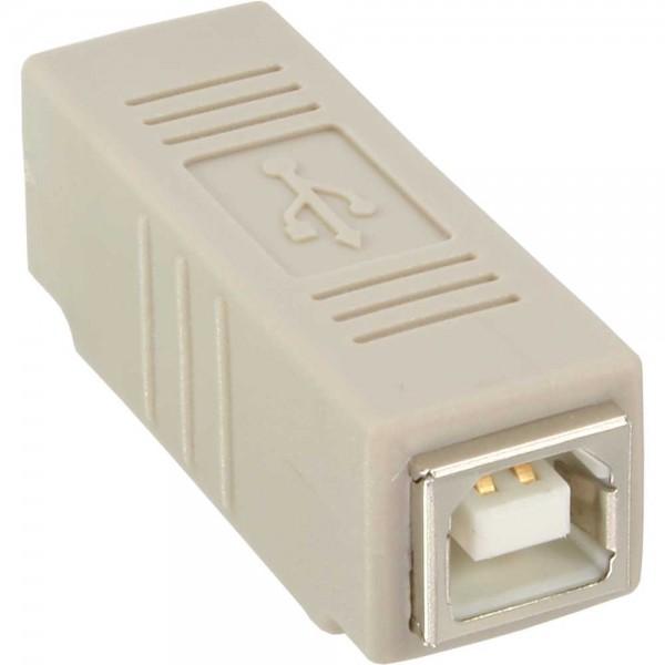 InLine® USB 2.0 Adapter, Buchse B auf Buchse B