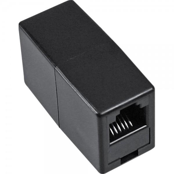 InLine® Modular Kupplung, RJ11 Buchse / Buchse