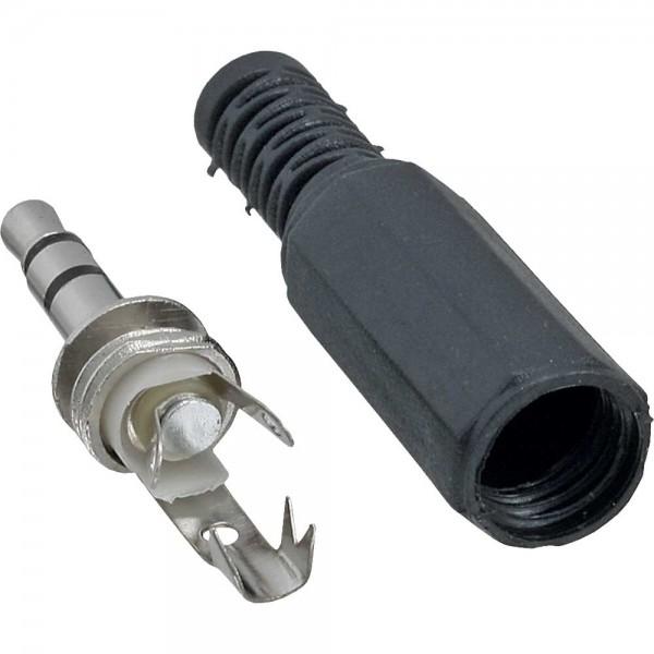 InLine® Klinkenstecker 3,5mm Stereo Lötversion