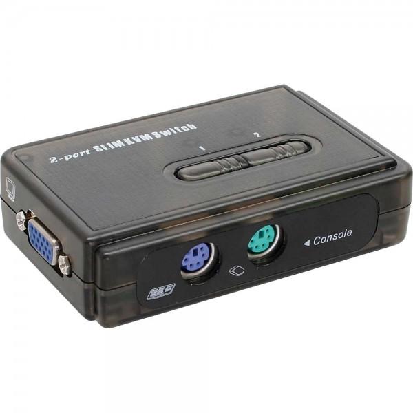 InLine® KVM Switch, 2-fach, PS/2